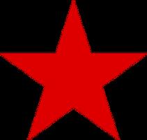 logos & red star free transparent png image.