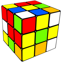 objects&Rubik's Cube png image.