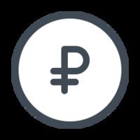 symbols & russian ruble free transparent png image.