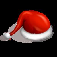 holidays&Santa Claus hat png image.