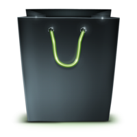 objects&Shopping bag png image.