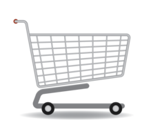 Shopping cart&objects png image