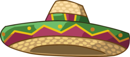 clothing&Sombrero png image.