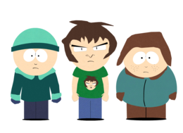 heroes&South Park png image.