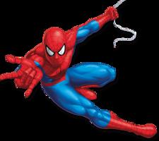 heroes & spider man free transparent png image.