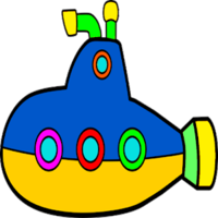 weapons&Submarine png image.