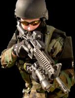 people&Swat png image.