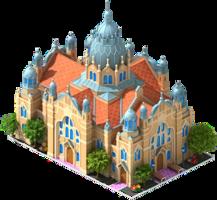 fantasy&Synagogue png image.