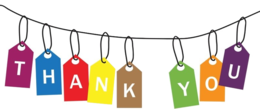 words phrases&Thank you png image.
