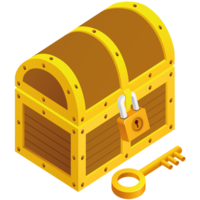 jewelry&Treasure chest png image.