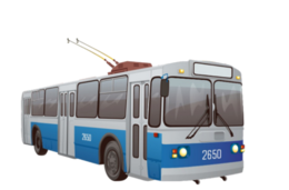 transport&Trolleybus png image.