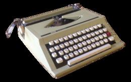 technic&Typewriter png image.