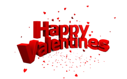 holidays&Happy Valentines Day png image.