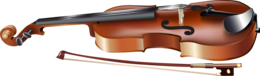 objects&Violin png image.