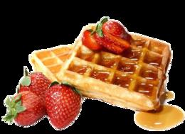 food&Waffle png image.