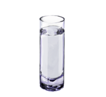 food&Water glass png image.