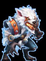 fantasy&Werewolf png image.