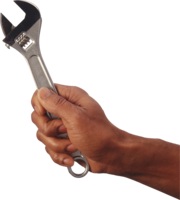 technic&Wrench spanner png image.