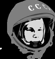 celebrities&Yuri Gagarin png image.